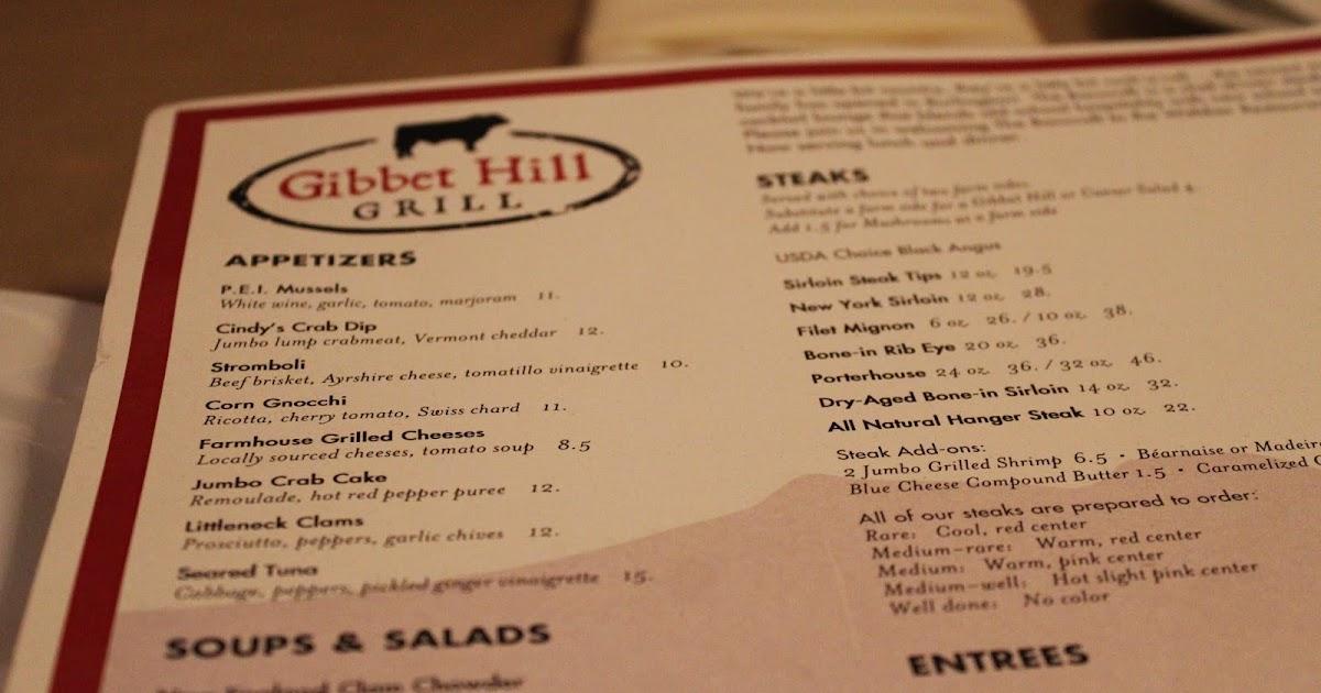 Gibbet Hill Grill Sister Restaurant