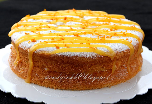 Table for 2.... or more: Orange Cream Cake - Orange #3
