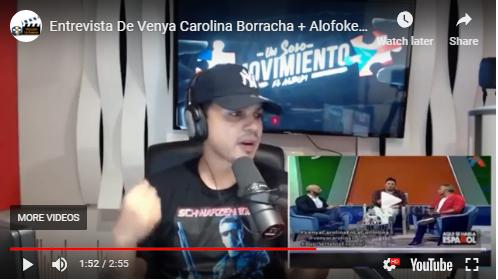 LA VERDAD DE LO QUE PASO CON VENYA CAROLINA EN AQUI SE HABLA ESPAÑOL