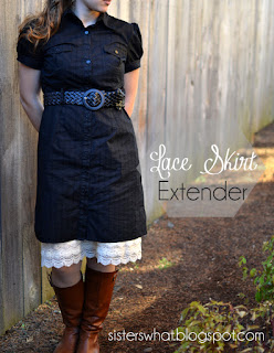how to make a skirt extender