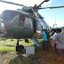 Usarán helicóptero de la Fuerza Aérea para emergencias ante lluvias