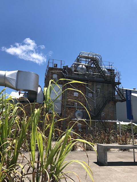 Le Fangourin, Mauritius, sugar factory