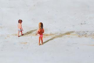 playas-arenas-ninos-pintura