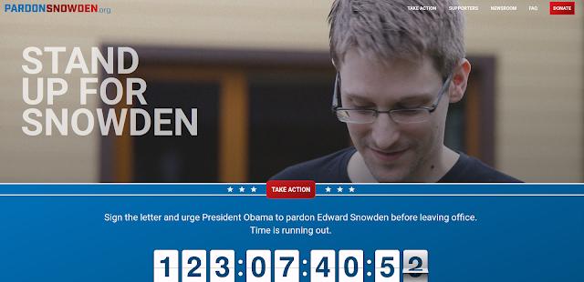 Υπογράψει την επιστολή και καλούν τον Πρόεδρο Ομπάμα να δώσει χάρη στον Edward Snowden πριν από τη λήξη της θητείας. Ο χρόνος τελειώνει.