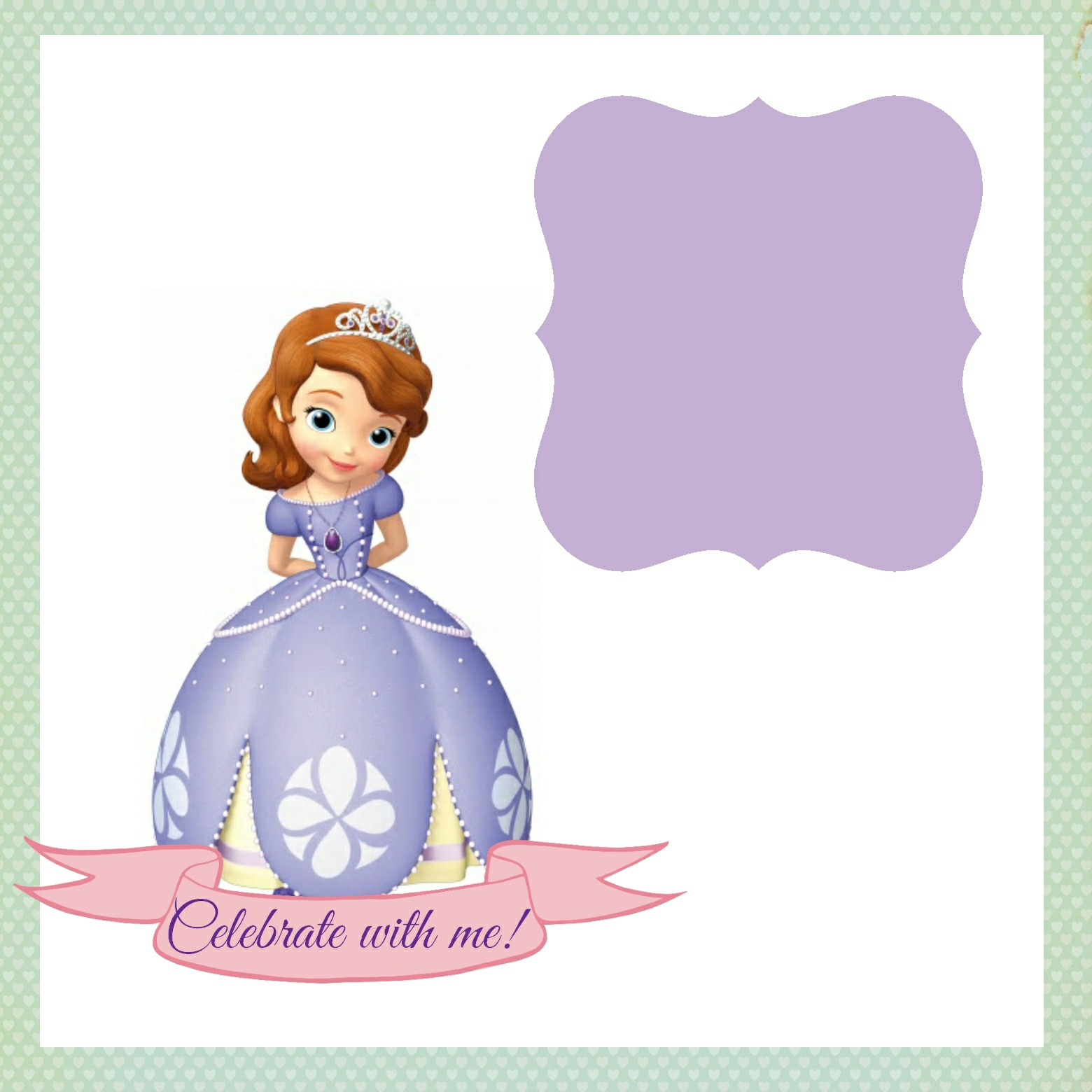 Sofia the first birthday card template image result for sofia the first birthday card template bookmarktalkfo Image collections