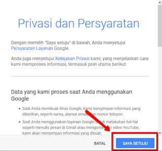 tutorial cara Membuat Email di Gmail sebagai akun Google