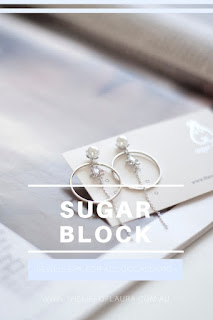Sugar Block Earrings