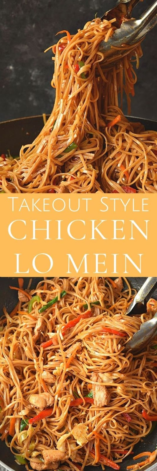 Best ever Chicken Lo Mein you must have tried at home! #savorybitesrecipes #chickenlomein #lomeinrecipe #easyrecipe #dinnerrecipes #chinesefood