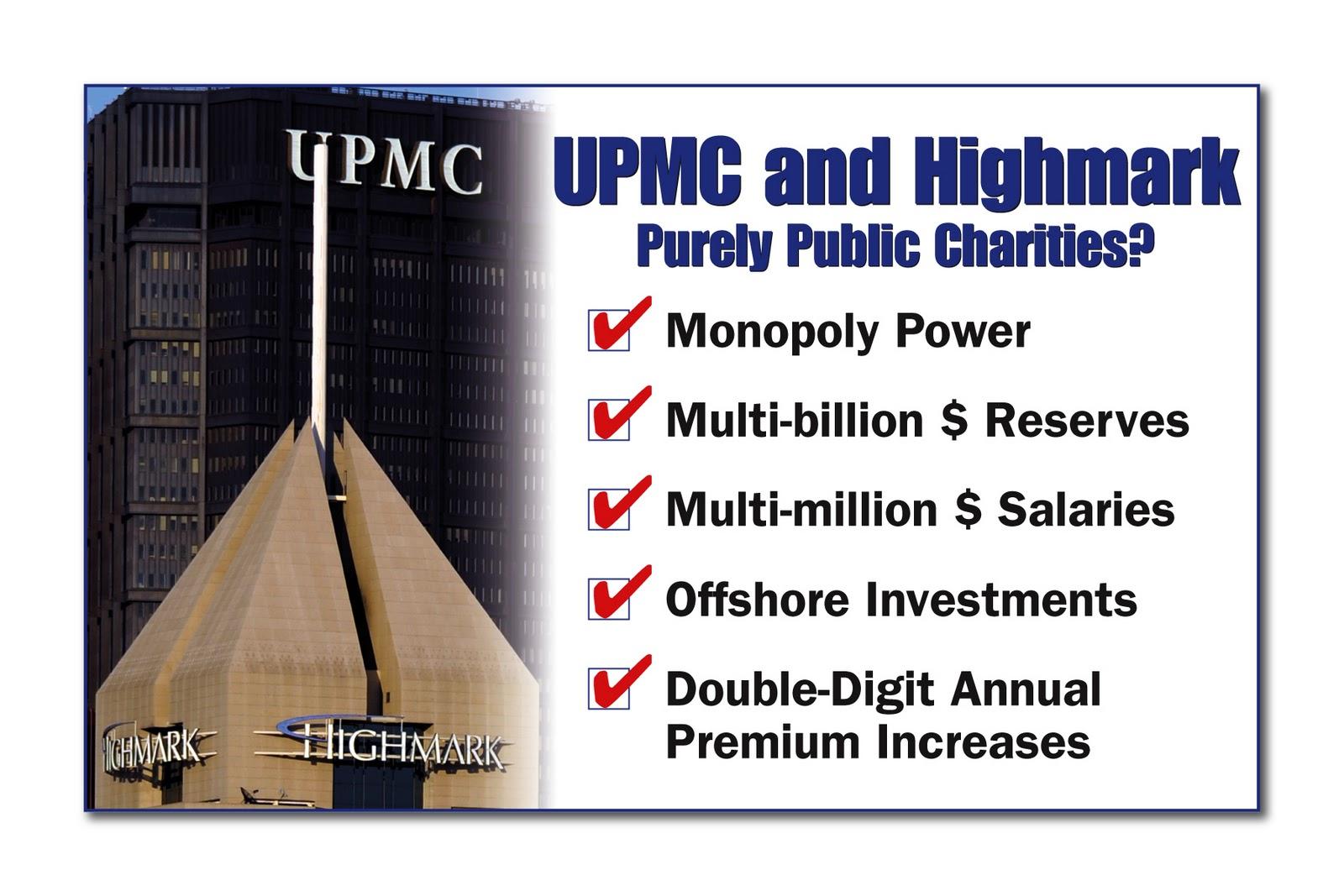 UPMC vs  Highmark - Citizen Soap Box: September 2011