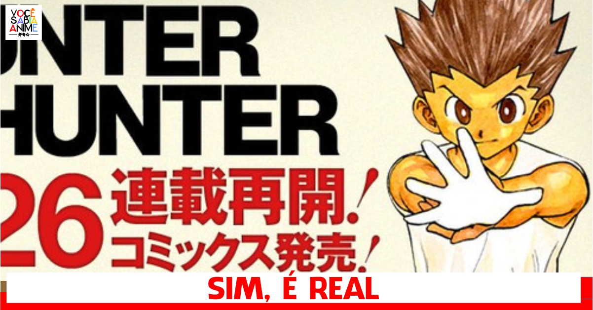 Hunter x Hunter retorna do hiato - É OFICIAL