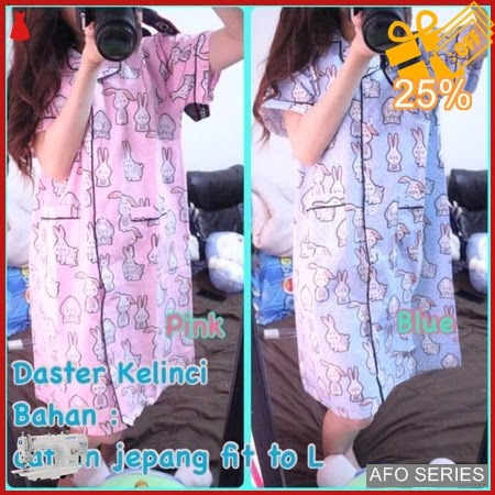 AFO689 Model Fashion Daster Kelinci Modis Murah BMGShop