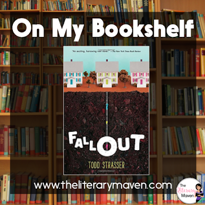 In Fallout by Todd Strasser, history is rewritten when the Cuban Missile Crisis escalates into nuclear war. Scott and his family retreat into their bomb shelter along with the neighbors who laughed at the idea. Read on for more of my review and ideas for classroom application.