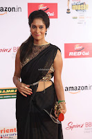 Sindhu looks fabulous in Black Saree designer choli at Mirchi Music Awards South 2017 ~  Exclusive Celebrities Galleries 065.JPG