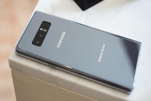 Thiết kế Samsung Galaxy Note 8 cũ chính hãng