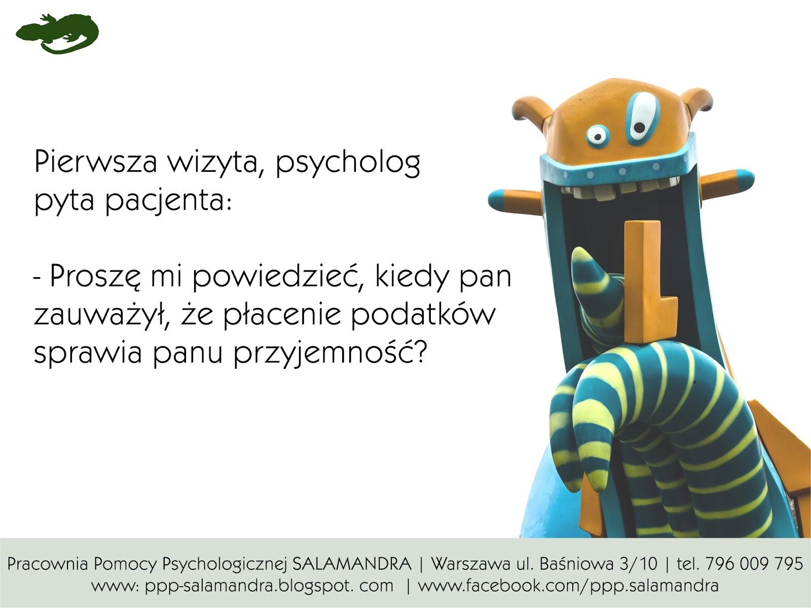 Dobry psycholog Warszawa ostrzega