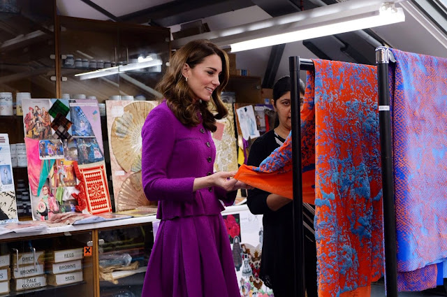 Wizyta księżnej Kate w Royal Opera House