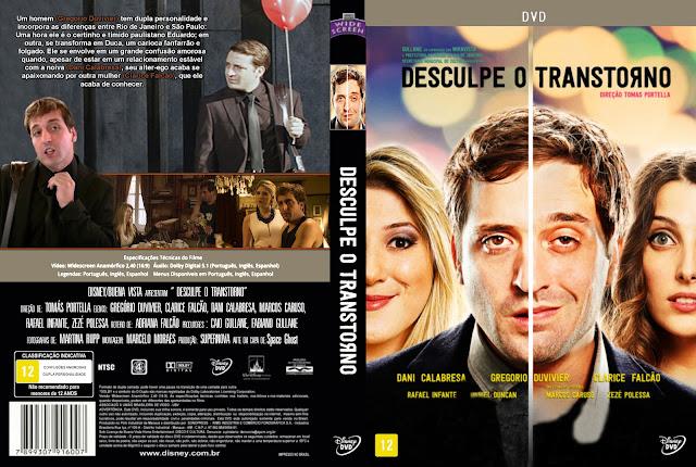 Capa DVD Desculpe O Transtorno