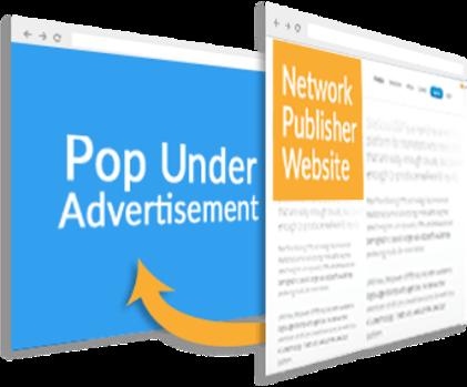 Iklan PopUnder dan PopUp terbaik 2017