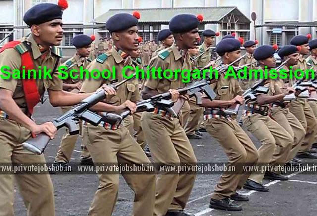 Sainik School Chittorgarh Admission 2018-19 (6th & 9th) Entrance Exam Date