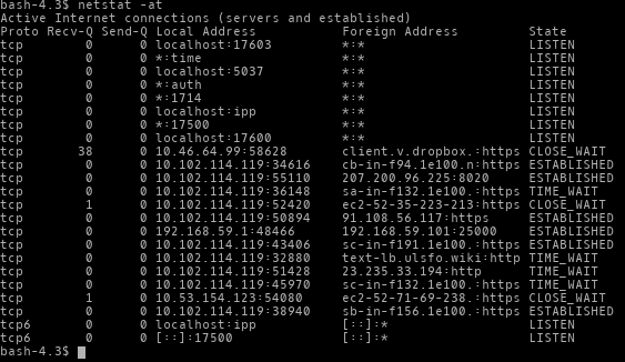 How To: Linux Netstat Command Line For Checking