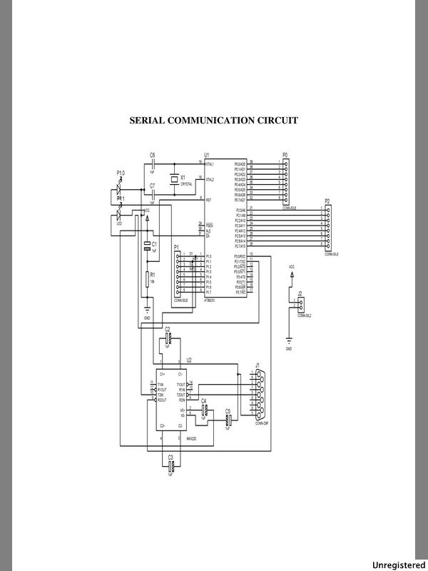electronians  gsm module interfacing with 8051