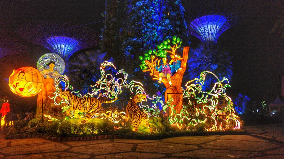 Experience The Mid Autumn Festival In A Whole New Light As Gardens By The  Bay Celebrates The Lantern Festival With A Fusion Of The Traditional And  Modern