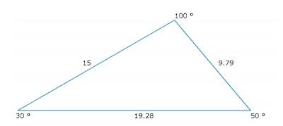 Triángulo obtuso