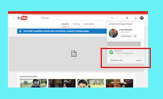 Tiba tiba Channel Youtube Menghilang dan Ditangguhkan