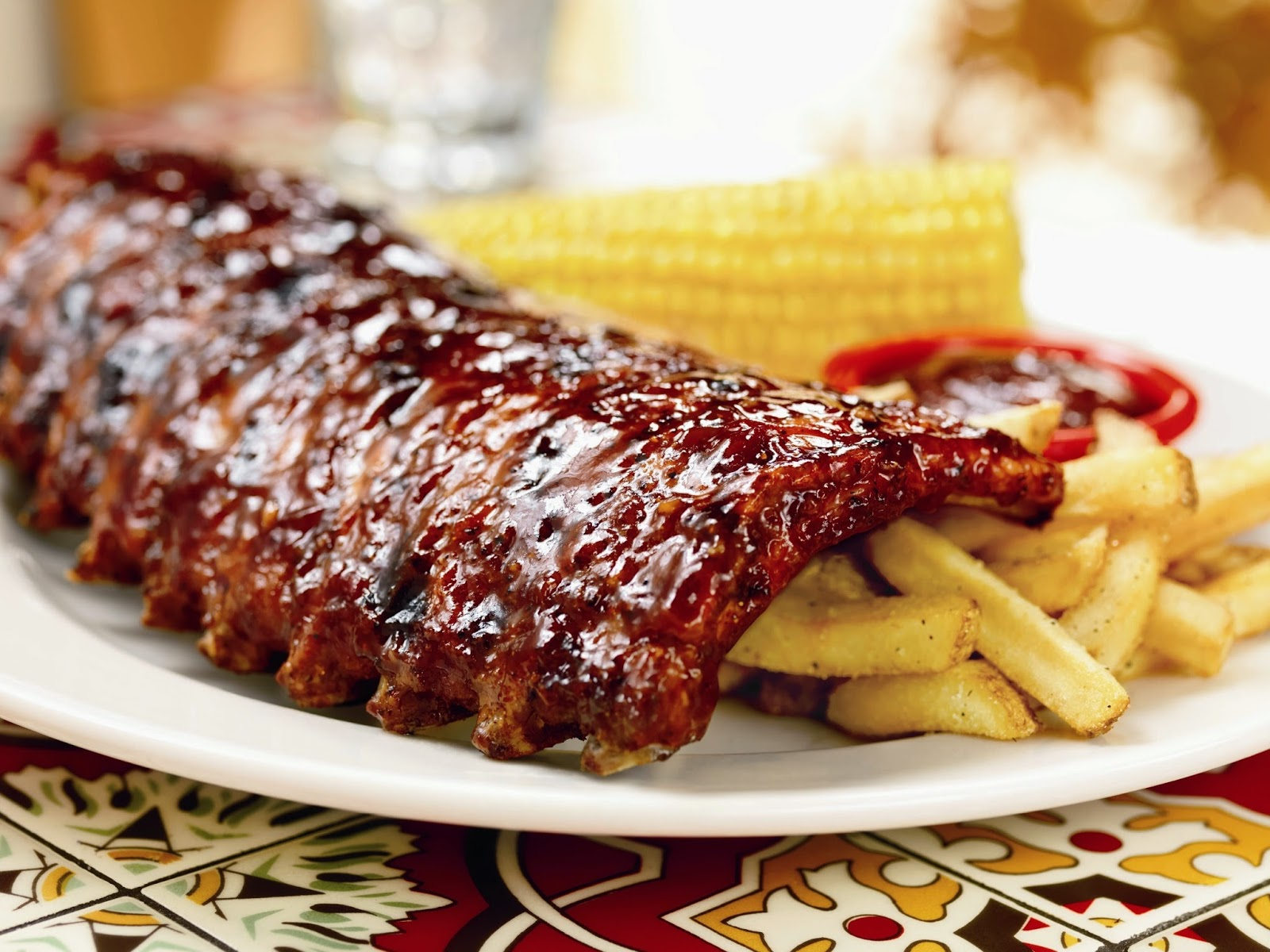 Sweet Mustard Seeds Baby Back Ribs