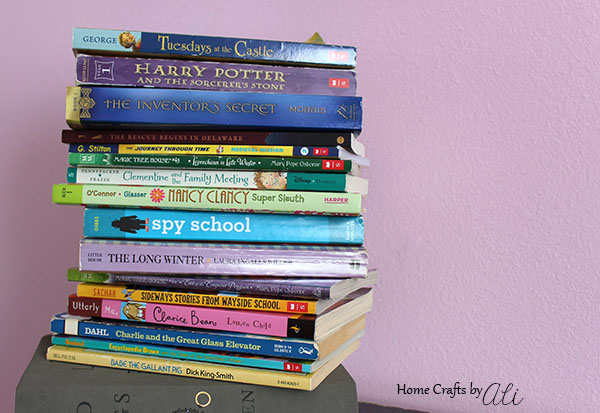 choose an assortment of books to read for summer