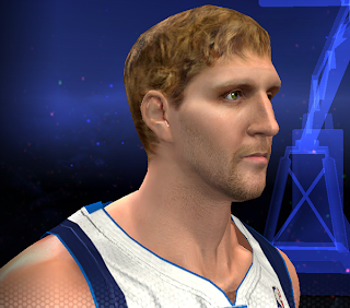 NBA 2K14 Dirk Nowitzki Hair Update Mod