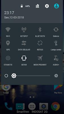 menoaktifkan fitur android