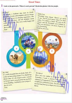 8. Sınıf İngilizce Tutku Yayınları Ders Kitabı Cevapları Sayfa 64