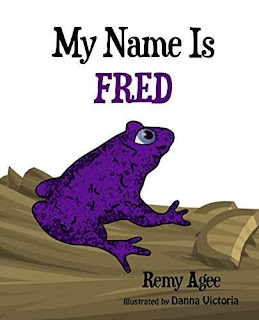 My Name is FRED - children's illustrated book free book promotion Remy Agee
