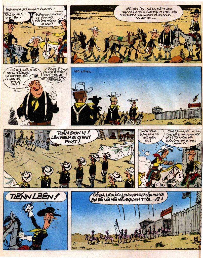 Lucky Luke tap 12 - khe vuc apache trang 4