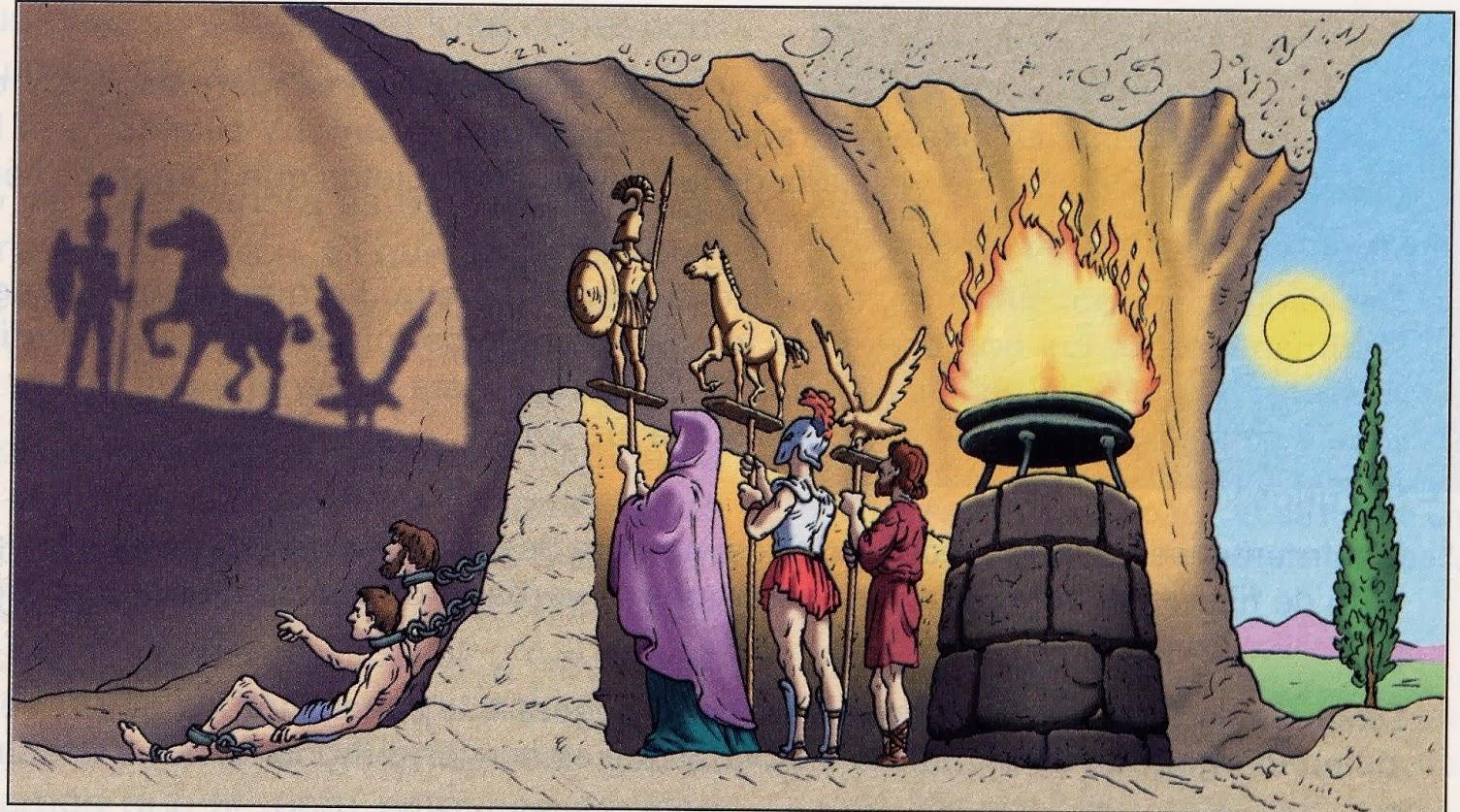 mito da caverna platonically relationship