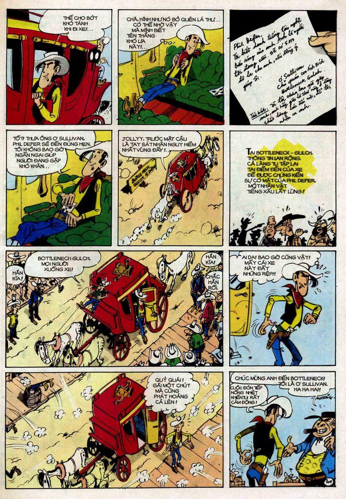 Lucky Luke tập 25 - nhện chân dài trang 9