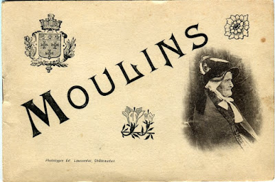 Photo de Moulins, Allier. carnet de vielles photos
