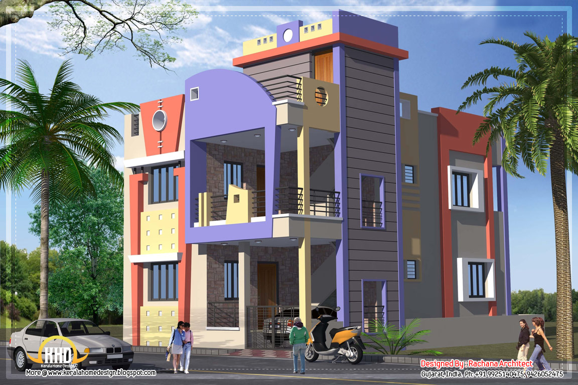 1582 sq ft india house plan home appliance for Housing plan in india