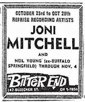 Joni Mitchell, Neil Young - Bitter End 1968