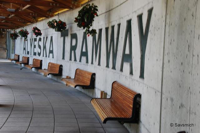 @ Alyeska Tram station