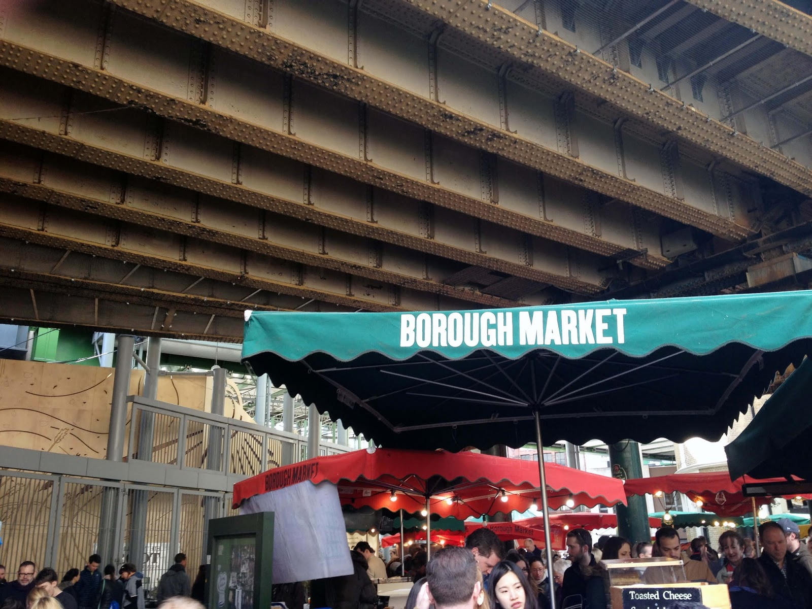 Borough Market in Spring, London | Hungry Little Bear
