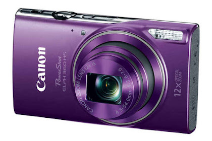 Canon PowerShot ELPH 360 HS Driver Download Windows, Mac