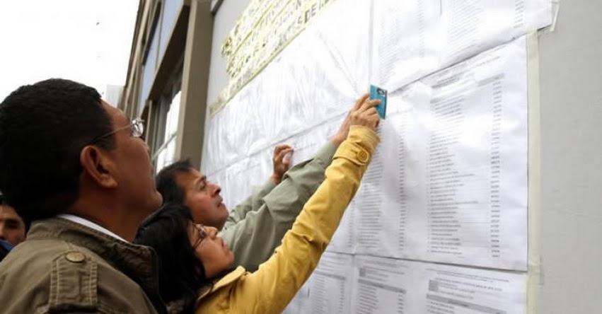 MINEDU: Cerca de 10 mil maestros alcanzaron Nombramiento Docente 2018 en Concurso Nacional - www.minedu.gob.pe
