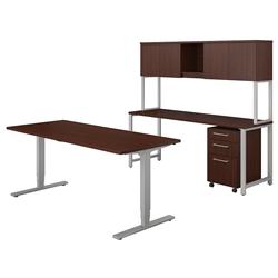 Ergonomic Executive Workstation