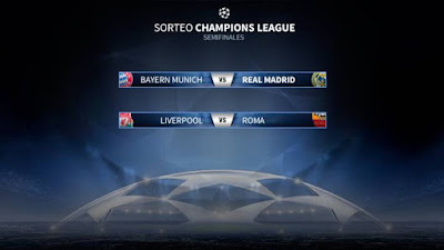 Champions League semis match-up