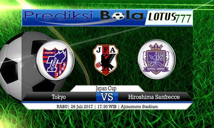 Prediksi Pertandingan antara Tokyo vs Hiroshima Sanfrecce Tanggal 26 Juli 2017