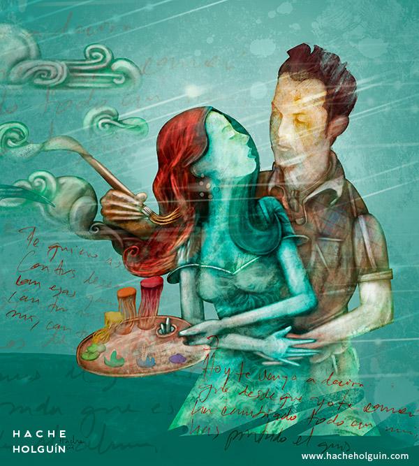 Ilustración Te quiero así