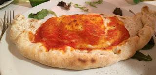 A proper Calzone pizza