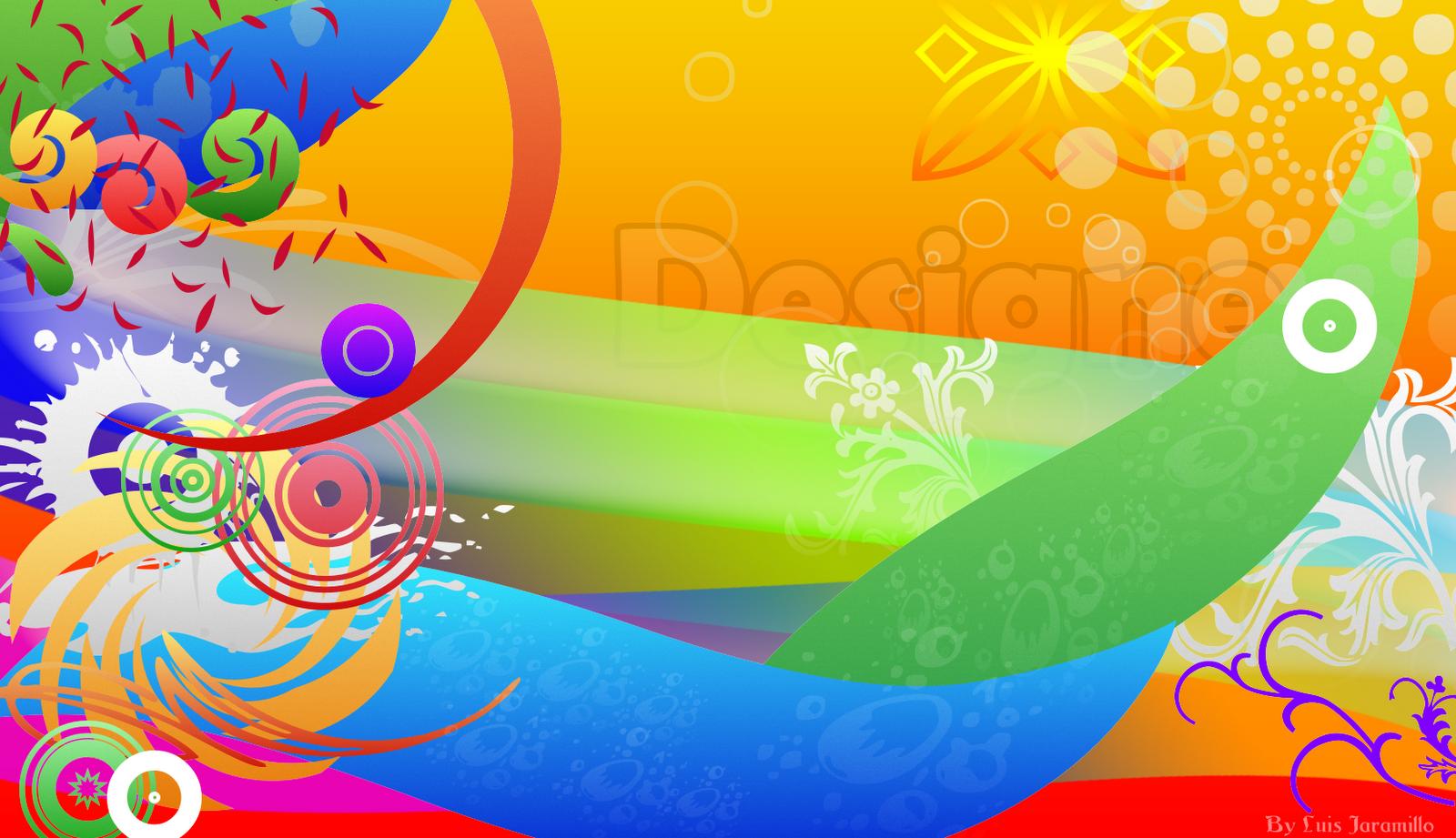 Lj design studios dise o creativo de c rculos y lineas for Diseno grafico gratis